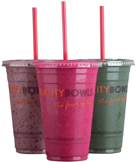 smoothies menu items
