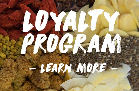 Loyalty Program from Vitality Bowls