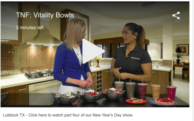 New Year's Day Show: Vitality Bowls