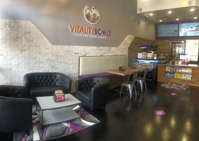 Vitality Bowls Plano Interior