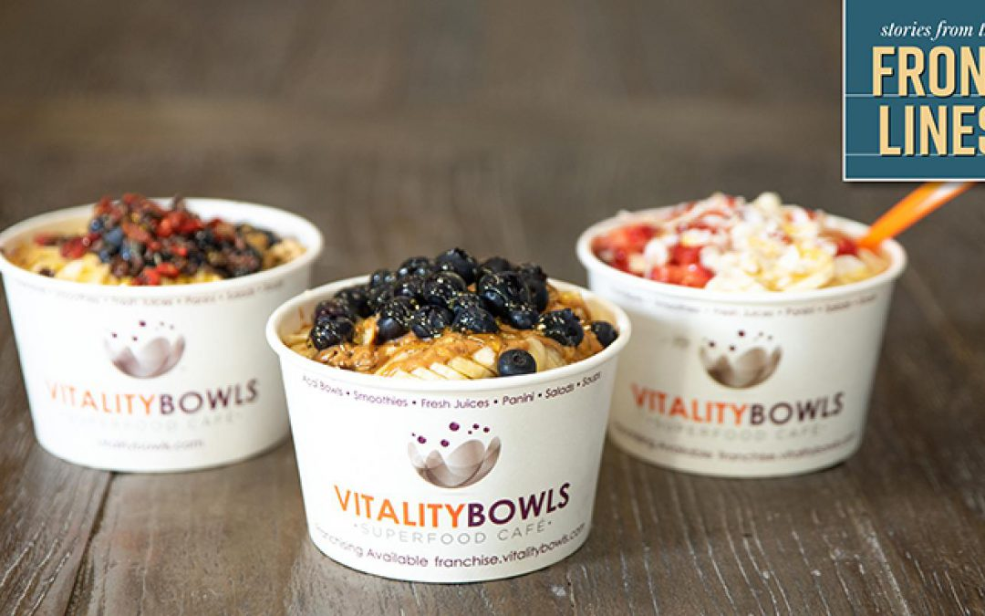 Vitality Bowls CEO and co-founder Roy Gilad on the superfood café's strength during COVID