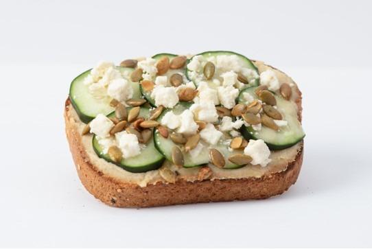 Wholesome Hummus Toast